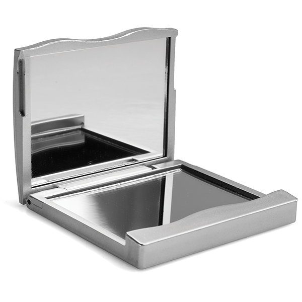 Double Compact Square Mirror Product Image