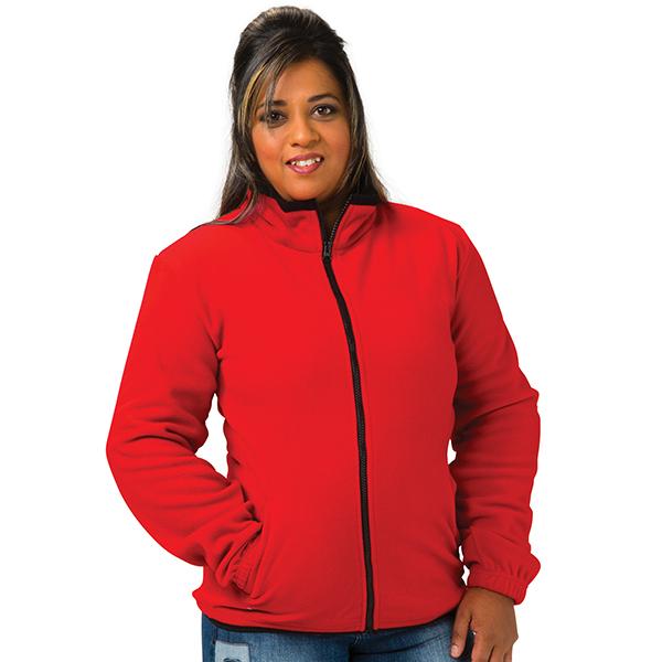 Ladies Fleece Jacket Product Image