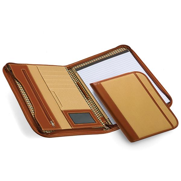 A4 Zip Portfolio Folder Product Image